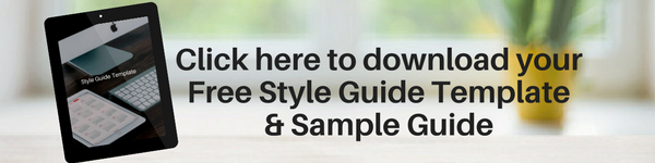 Style Guide Template Button