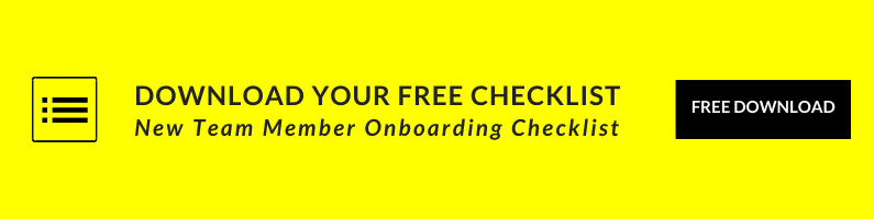 New Team Member Onboarding Checklist Download