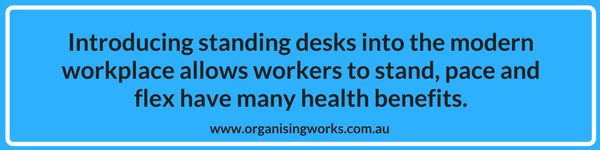 Take a stand a healthier way to work