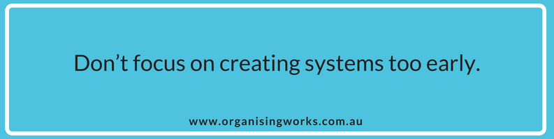 When you Shouldnt Create Systems for your Business